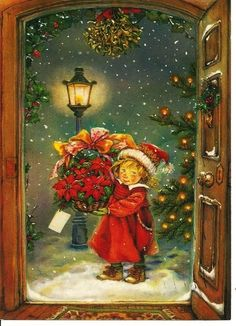 Christmas ~ Card* 1500 free paper dolls toys at Arielle Gabriels The International Paper Doll Society Christmas gift for Pinterest pals also free Asian paper dolls The China Adventures of Arielle Gabriel Merry Christmas to Pinterest users *