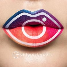 10 of Instagram's best lip art looks - Foto 1