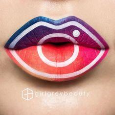 10 of Instagram's best lip art looks - Foto 1