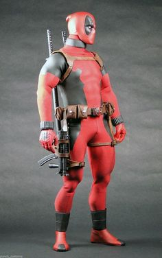 1 6 Custom 12 inch Deadpool Action Figure | eBay | marvel figures ...
