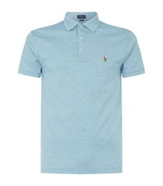 Polo Ralph Lauren Pima Cotton Polo Shirt available to buy at Harrods.Shop clothing online and earn Rewards points.