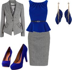"""""""Work Suit"""" by angiestandridge on Polyvore"""