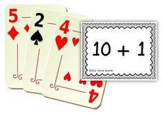 Math Coachs Corner: Ten Plus Card Game