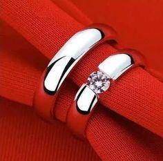 par de alianças de prata 950 namoro compromisso aj058 top!