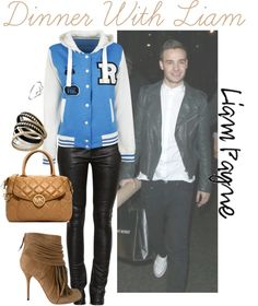 """Dinner With Liam"" by ebbey ❤ liked on Polyvore"