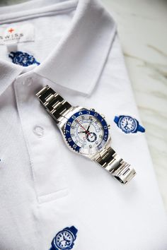 SwissWatchers | Luxury Clothing for Watch Enthusiasts Jordan Belfort, Luxury Clothing, Rolex Submariner, Rolex Watches, Bracelet Watch, Lovers, Shirt, Accessories, Clothes