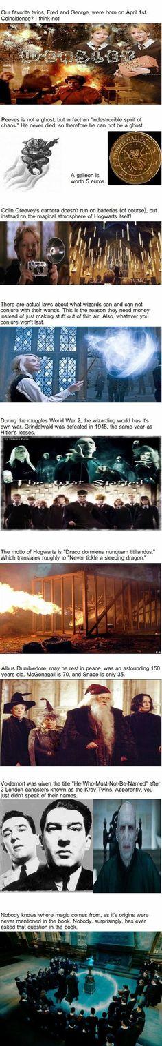 Fandom Facts For Fabulous Harry
