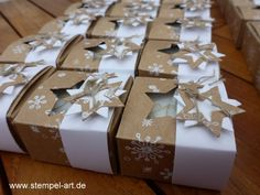 Swaps against Brussels after StempelART - Christmas Tips for 2020 Diy Gift Box, Diy Box, Christmas Time, Christmas Crafts, Christmas Decorations, Origami Easy, Box Packaging, Stamping Up, Stampin Up Cards