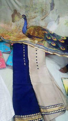 Peacock dupatta Indian Salwar Suit, Punjabi Salwar Suits, Designer Punjabi Suits, Indian Designer Wear, Indian Attire, Indian Wear, Indian Dresses, Indian Outfits, Simple Indian Suits