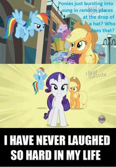 Apparently Rarity does...