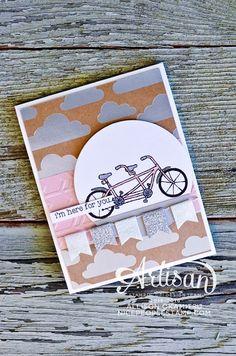 nice people STAMP!: Pedal Pusher Card: Stampin' Up! Artisan Blog Hop