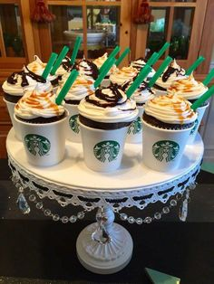 Brilliant Picture of Starbucks Birthday Cake . Starbucks Birthday Cake Starbucks Cupcakes For Teen Girls Cupcake Foodie Cake Foodie 13 Birthday Cake, Birthday Cakes For Teens, 13th Birthday Parties, Free Birthday, Girl Birthday Cupcakes, 13th Birthday Party Ideas For Teens, Birthday Cake Girls Teenager, 15th Birthday, Makeup Birthday Cakes