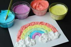Les Enfants Adorent la Peinture Mousse ! Découvrez la Recette Maison Ici.
