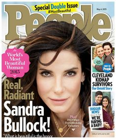 Sandra Bullock Is People Magazine's Most Beautiful Woman