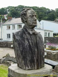 Laugharne - Talacharn /  Dylan Thomas Legacy Projects, Dylan Thomas, Big Country, Cymru, Swansea, Spoken Word, British Isles, South Wales, Monuments