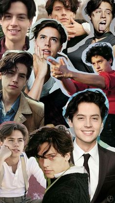 Collage #cole sprouse