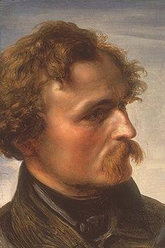 Hubner, Julius (1806-1882) - 1839 Portrait of the Artist Carl Friedrich Lessing