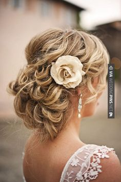 Cool! - wedding hair | CHECK OUT MORE IDEAS AT WEDDINGPINS.NET | #weddinghairstyles