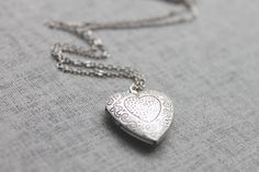 I have always, always wanted a heart locket