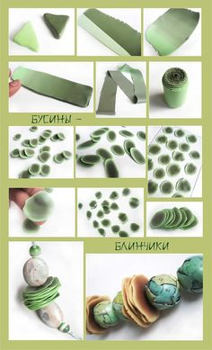 "Pictorial - Making a PC ""Plug"" and then making/using disk spacer beads. #Polymer #Clay #Tutorials"