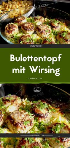Bulettentopf mit Wirsing – Rezepte Cutlet pot with savoy cabbage – recipes Easy Smoothie Recipes, Easy Healthy Recipes, Meat Recipes, Healthy Snacks, Easy Meals, Recipes Dinner, Dessert Recipes, Savoy Cabbage, Cheesecake