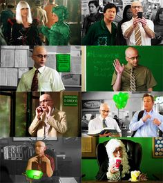 Dean Pelton + Green | Asked by feyminism