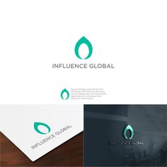 Influence Global Logo Design by capricornArt