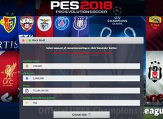 [No Survey] PES 2018 Pro Evolution Soccer Hack 2019 Updated Generator for Androi. Episode Choose Your Story, Point Hacks, Pro Evolution Soccer, Android, Game Resources, Game Update, Test Card, Soccer Games, Hack Online