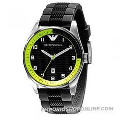 Emporio Armani Sport Collection Silicone Strap Mens Watch Ar5877      Emporio Armani Sport Collection Silicone Strap Mens Watch Ar5877