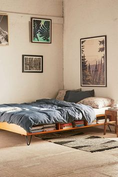 Stauraumbett selbst bauen  Stauraum-Bett selber bauen | house diy decor | Pinterest | Yoga ...