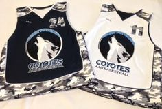 AAU Basketball jerseys from Lightning Wear.  Check out the camouflage design.  Made to order in Maryland USA.