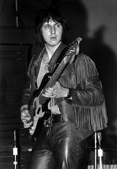 John Alec Entwistle (9 October 1944 – 27 June 2002) was a British musician, songwriter, singer, film and music producer, who was best known as the bass guitarist for British rock band The Who.