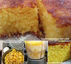 Bolo cremoso de milho Food Cakes, Brazil Food, Comida Diy, Food Net, Christmas Appetizers, Cake Shop, Buttercream Cake, Diy Food, I Love Food