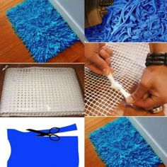 Homemade Bath Rug - DIY
