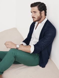 Massimo Dutti March Lookbook for Men. Spring Summer 2014 Collection. www.massimodutti.com