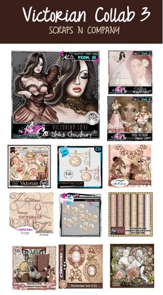 VICTORIAN COLLAB PART 3 http://scrapsncompany.com/index.php?main_page=product_info&cPath=587_144&products_id=21667