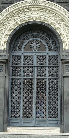 Door of Seabra Building - Rio de Janeiro