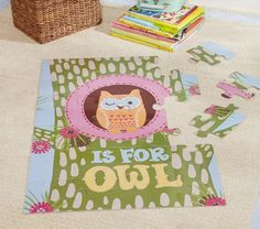 $24 Owl Puzzle   Pottery Barn Kids