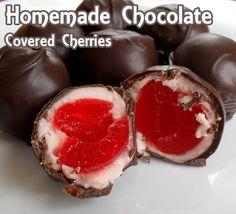 Homemade Chocolate Covered Cherries Recipe from Baby Babkas