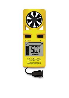 LaCrosse Technology Handheld Wind Anemometer with Lanyard