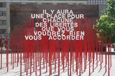 The Outdoor Advert titled Aires libres – Amherst Park Anamorphic Installation was done by Paprika advertising agency for product: Aires Libres (brand: SDC du Village) in Canada. Entrance Signage, Outdoor Signage, Wayfinding Signage, Signage Design, Park Signage, Environmental Graphics, Environmental Design, Rue Sainte Catherine, Art Public