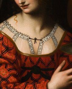 Salomé (Détail) Bernardino Luini . 1525