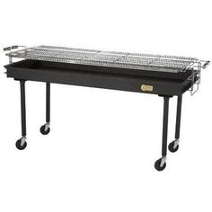 Cheap Crown Verity CV-BM-60 72 Wide Portable Charcoal Grill with 60 Grilling Surface 14 and 16 Gauge Cold Rolled Steel Construction High Heat Enamel Finish and Removable Legs on Casters in https://bestcharcoalgrillsusa.info/cheap-crown-verity-cv-bm-60-72-wide-portable-charcoal-grill-with-60-grilling-surface-14-and-16-gauge-cold-rolled-steel-construction-high-heat-enamel-finish-and-removable-legs-on-casters-in/