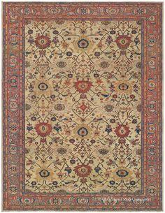 Persian Heriz Carpet Circa 1900 For The Love Of Rugs