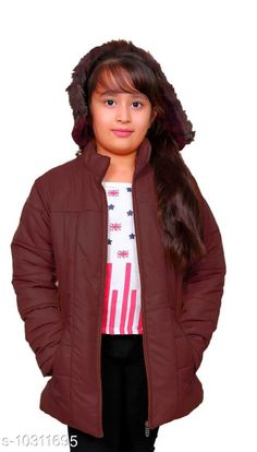 Jackets & Coats StreetLine maroon Stylish Kids Girls Jacket Fabric: Nylon Sleeve Length: Long Sleeves Pattern: Solid Multipack: 1 Sizes:  4-5 Years (Length Size: 20 in Waist Size: 13 in Hip Size: 15 in)  5-6 Years (Length Size: 21 in Waist Size: 14 in Hip Size: 16 in)  10-11 Years (Length Size: 25 in Waist Size: 18 in Hip Size: 20 in)  3-4 Years (Length Size: 19 in Waist Size: 12 in Hip Size: 14 in)  8-9 Years (Length Size: 23 in Waist Size: 16 in Hip Size: 18 in)  7-8 Years (Length Size: 22 in Waist Size: 15 in Hip Size: 17 in)  9-10 Years (Length Size: 24 in Waist Size: 17 in Hip Size: 19 in)  Country of Origin: India Sizes Available: 3-4 Years, 4-5 Years, 5-6 Years, 6-7 Years, 7-8 Years, 8-9 Years, 9-10 Years, 10-11 Years *Proof of Safe Delivery! Click to know on Safety Standards of Delivery Partners- https://ltl.sh/y_nZrAV3  Catalog Rating: ★4.3 (406)  Catalog Name: Modern Stylus Girls Jackets & Coats CatalogID_1872424 C62-SC1153 Code: 547-10311695-