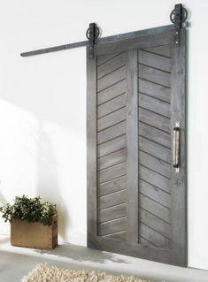 Rustic & Industrial Barn Doors - White Shanty