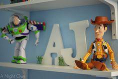 Toy Story Kids Room at @anightowlblog
