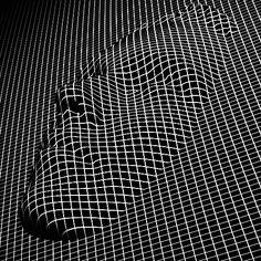 Increíbles animaciones de arte abstracto hacen vibrar al cuerpo humano.