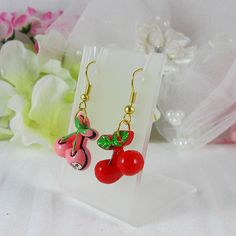 Cherry Earrings 3