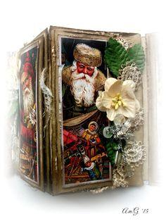 MINI- CONCERTINA for CHRISTMAS